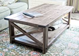 Wood Plans For End Tables by 17 Free Plans To Build A New Coffee Table