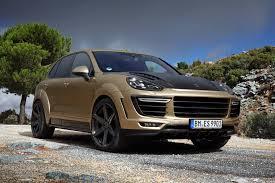 porsche cayenne 2016 topcar introduces porsche cayenne vantage gold u2013 motorherald