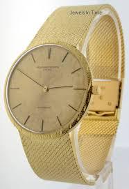 gold bracelet mens watches images Vacheron constantin vintage 18k yellow gold bracelet watch mens jpg