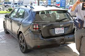 subaru impreza 2017 interior spyshots 2017 subaru impreza gets more premium looking interior