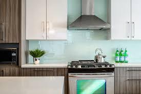 contemporary kitchen backsplash kitchen extraordinary kitchen glass backsplash modern subway