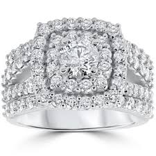 overstock engagement rings 2 5 to 3 carats engagement rings shop the best deals for dec