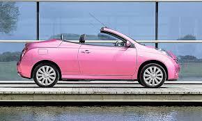 nissan micra yellow board price pink nissan micra convertible pink just pink stuff pinterest