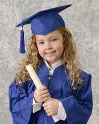 kindergarten cap and gown my evan in his cap and gown preschool graduation photos