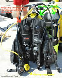 scuba diving learning to fly