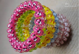 ribbon hair bands hair band bold printing the ribbon rubber band elastic