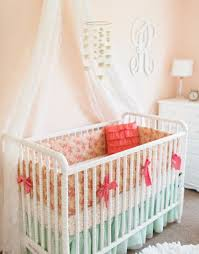 Nursery Bedding For Girls by 41 Best Peach Baby Bedding U0026 Nursery Inspiration Images On