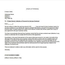 Collection Letter Sample Business by Amazing Debt Collection Letter Template U2013 Letter Format Writing