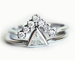 White Gold Wedding Ring Sets by Engagement Set White Gold Wedding Set Wedding Ring Set