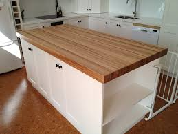 Butcher Block Table Tops Stone Or Concrete Back Bench With Oak Island Bench Reno