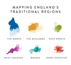Wessex England Map by Traditional Regions Of England 3600x3300 Mapporn