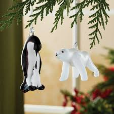 penguin and polar ornaments set national geographic store