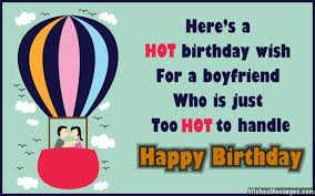 birthday wishes for boyfriend quotes and messages
