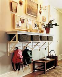 storage ideas for living room entryway organizing ideas martha stewart