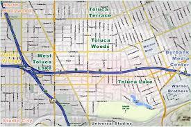 studio city map toluca lake maps toluca lake chamber of commerce