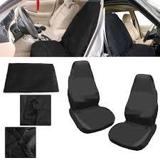 housse de siege utilitaire 2pcs housse de protection pour siège de voiture ou utilitaire avant