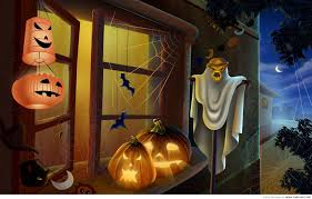 halloween free animated wallpaper hd