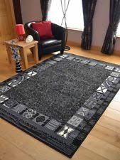 Grey Rugs Cheap Modern Black Grey Rugs Small Extra Large Big Huge Monochrome Soft