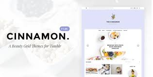 tumblr themes art blog cinnamon casual grid tumblr theme by tmint themeforest