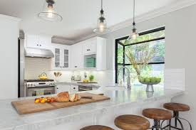 Pottery Barn Kitchen Furniture Ivory Kitchen Cabinets With Gray Backsplash Transitional