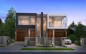 Custom Duplex Home Designer And Builder Sydney FJC Design - Home builder design