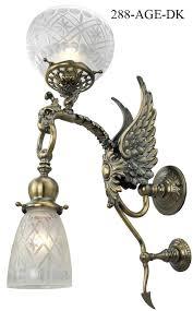 Bird Sconce Vintage Hardware U0026 Lighting Victorian Phoenix Bird Transitional