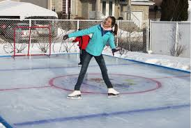Backyard Rink Liner by Arctic Ice Rink