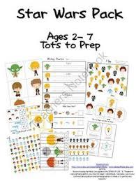 star wars preschool pack free preschool printables star cards