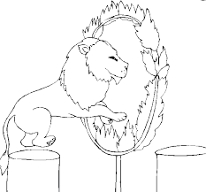 Free Circus Coloring Pages Circus Coloring Page