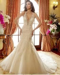 wedding gowns sereia wedding dresses 2017 v neck mermaid