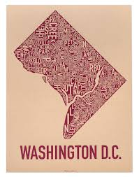 Washington Dc City Map by Washington Dc Neighborhood Map 18