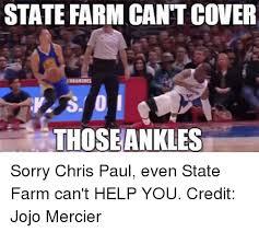 Chris Paul Memes - state farm cantcover those sorry chris paul even state farm can t