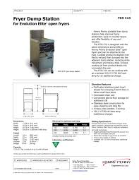 fryer dump station henny penny pdf catalogues documentation