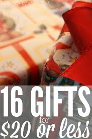 16 gifts for 20 or less holidays gift and frugal living