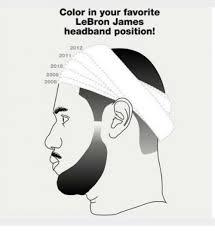 Lebron Headband Meme - 25 best memes about lebron james headband lebron james