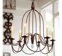 Candle Chandelier Pottery Barn Zspmed Of Pottery Barn Chandelier Elegant On Interior Designing