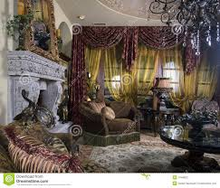 elegant interior decorated home royalty free stock photography