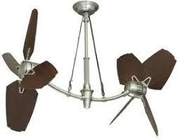dual fan ceiling fan ceilingfan org stylish powerful dual motor ceiling fans