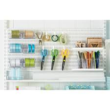 White Elfa Utility Boards The Container Store