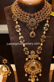 diamond sets design diamond choker and pachi haram gold jewellery designs