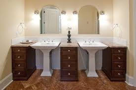 bathroom pedestal sink cabinet 20 captivating bathrooms with square sinks great photos