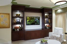 built in tv wall with bookshelves unit plansbuilt plans diy