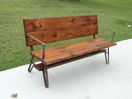 metal frame bench metal frame bench with in fabric church seat doozo info