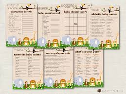 safari baby shower games jungle baby shower games baby
