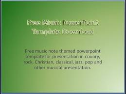 free music powerpoint templates download background presentation