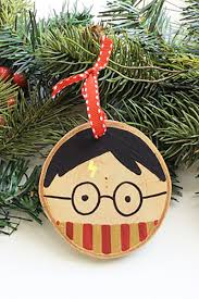 Wooden Christmas Decorations Bulk by 18 Best Harry Potter Ornaments Harry Potter Christmas Tree Ideas