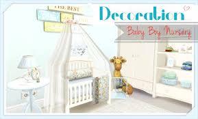Baby Boy Nursery Sims 4 Baby Boy Nursery Youtube