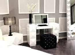 Desk And Vanity Combo Vanities Rosedale Mirrored Vanity Contemporary Bedroom And