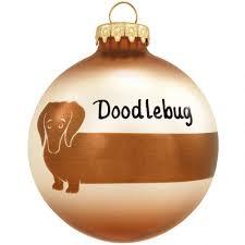 personalized dachshund glass ornament animal animal birds