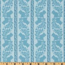 Discount Designer Upholstery Fabric Online Garden Of Delights Squirrely Stripe Turquoise Fabrics